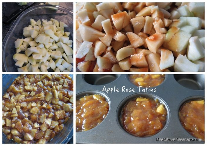 apple rose tarte tatin