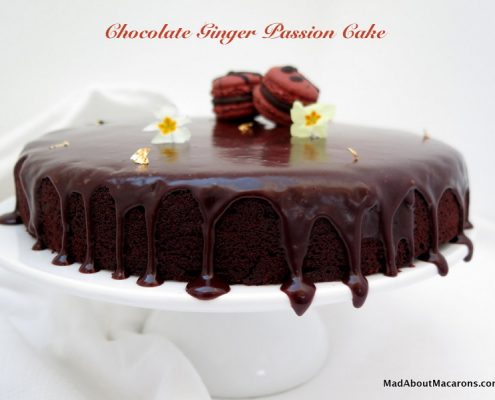 chocolate ginger passion cake