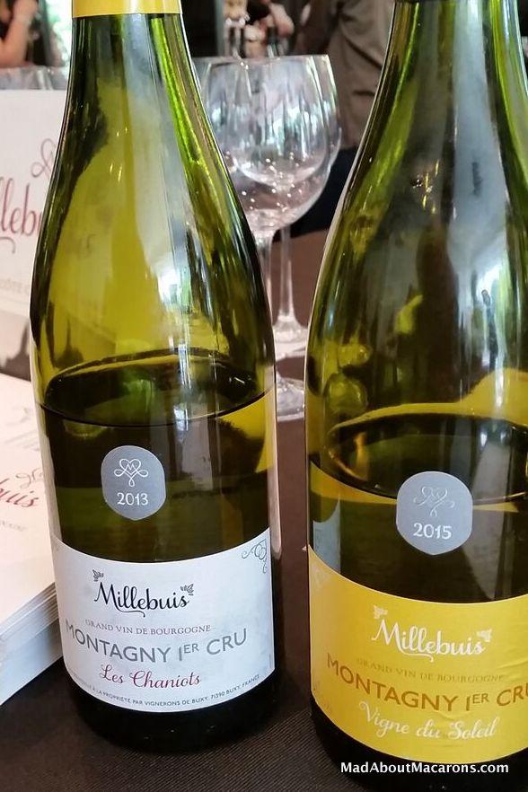Montagny wines Burgundy Lebey 2017 Paris