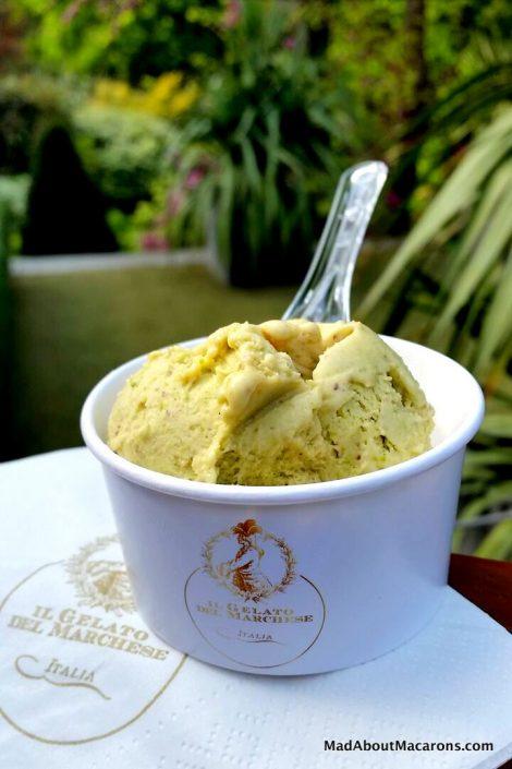 pistachio ice cream Il Gelato del Marchese