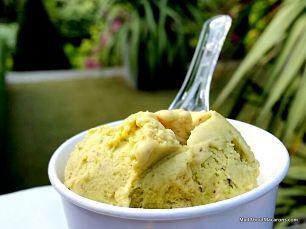 pistachio ice cream Il Gelato dei Marchese Paris Lebey