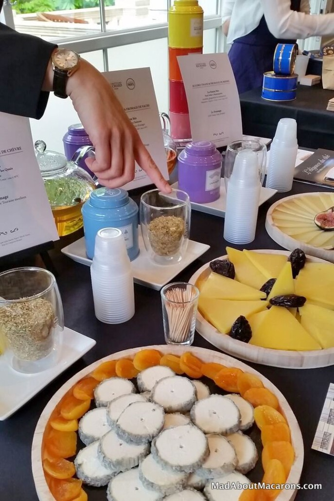 Lebey 2017 tea cheese tasting