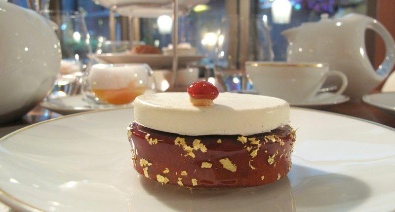 saint honore  pastry mandarin
