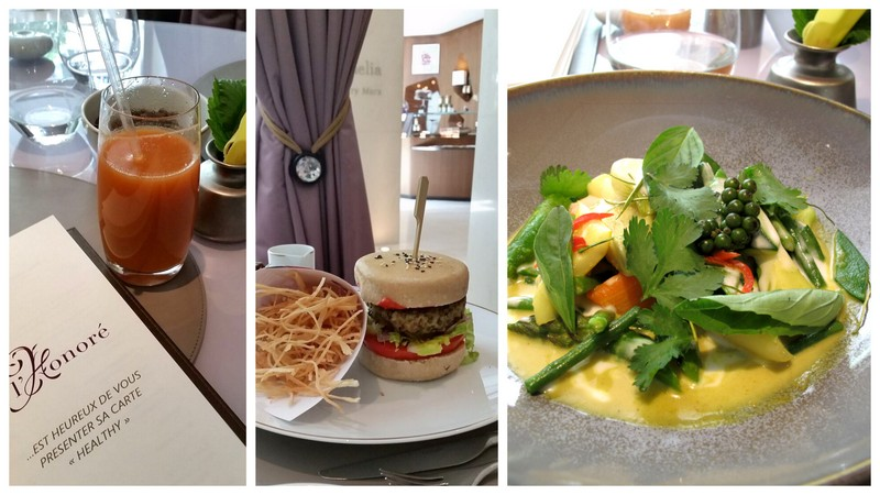 honore paris new healthy menu