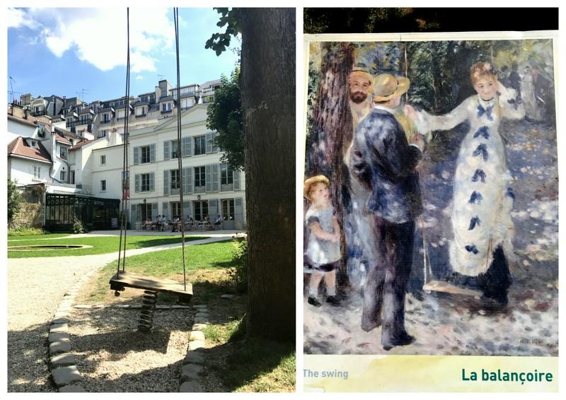 Renoir Gardens swing