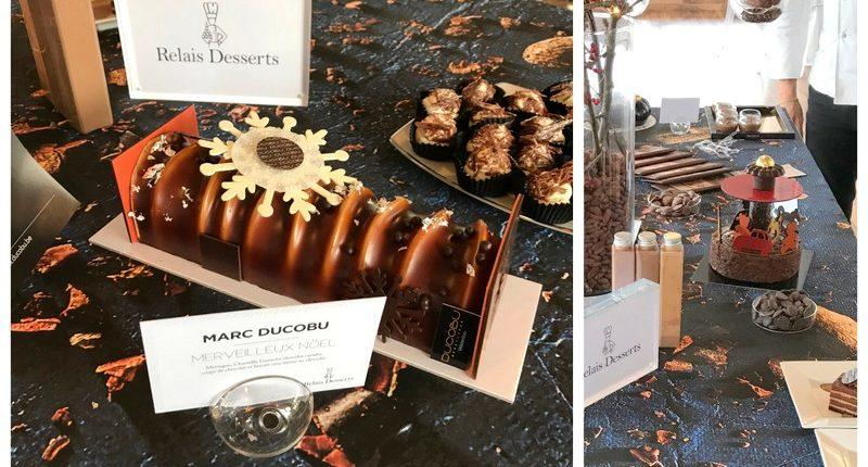 relais desserts yule log marc Ducobu
