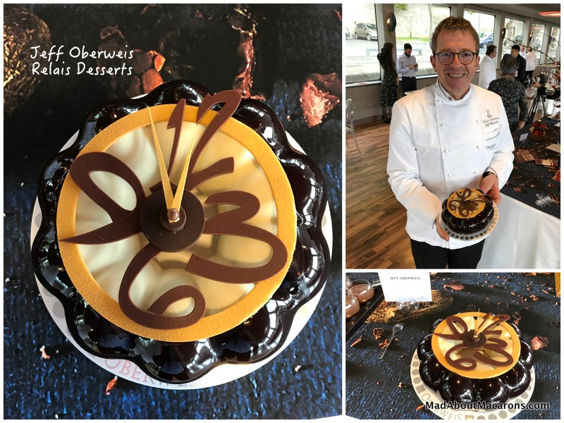 relais desserts yule log Jeff Oberweis