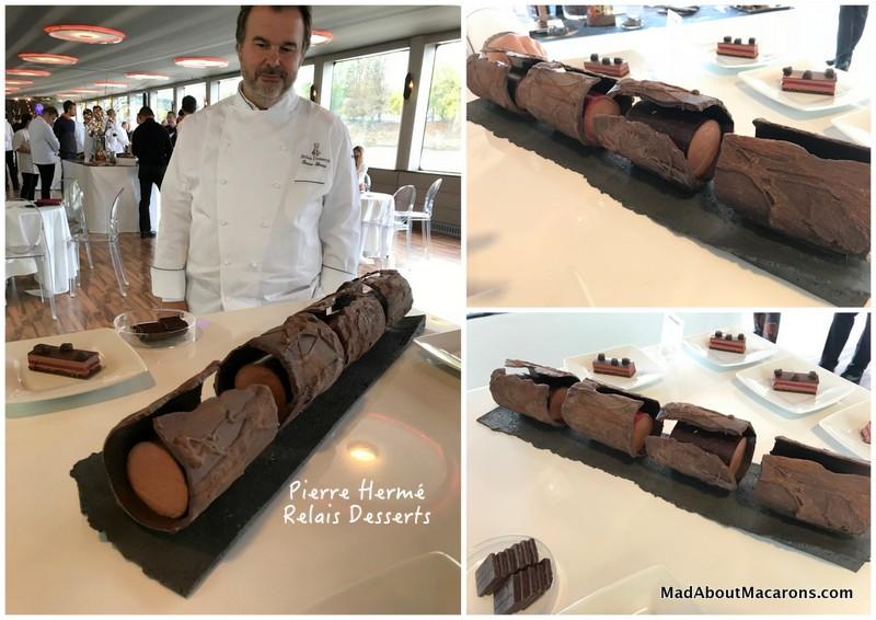 relais desserts yule log Pierre Hermé