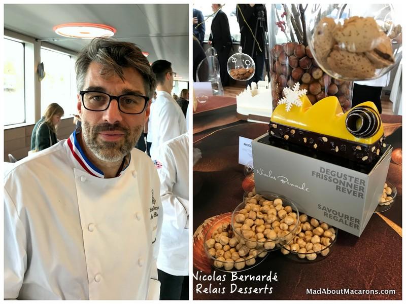 relais desserts yule log Bernardé