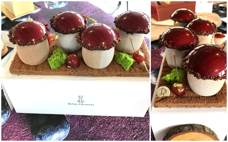relais desserts yule log laurent duchene Paris