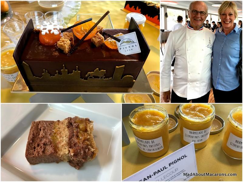 Relais Desserts Yulelogs Pignol Lyon