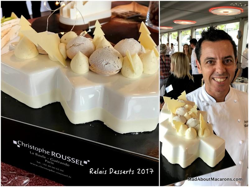 relais desserts yule log Christophe Roussel