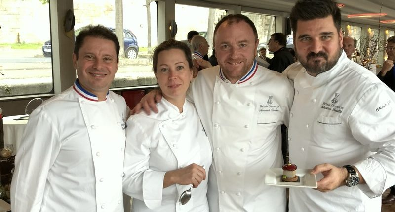 relais desserts yule log presentation Paris 2017