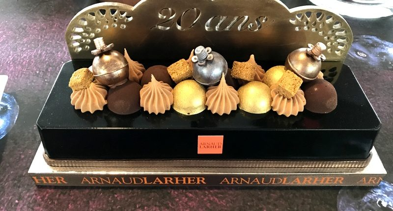 relais desserts yule log arnaud larder