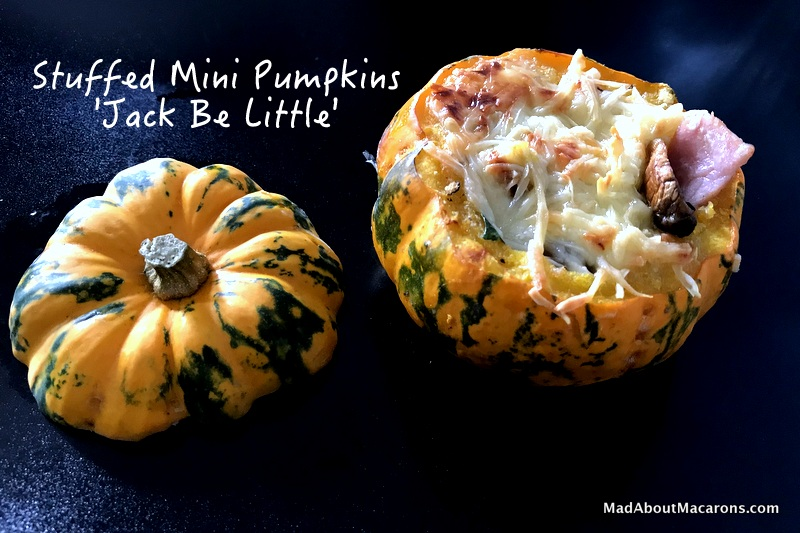Jack Be Little stuffed mini pumpkins