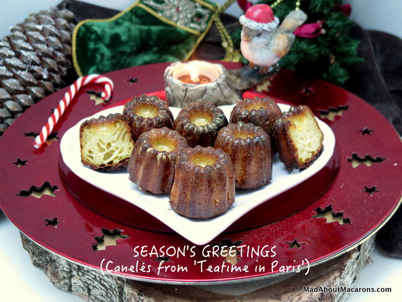 cannele cakes from Bordeaux