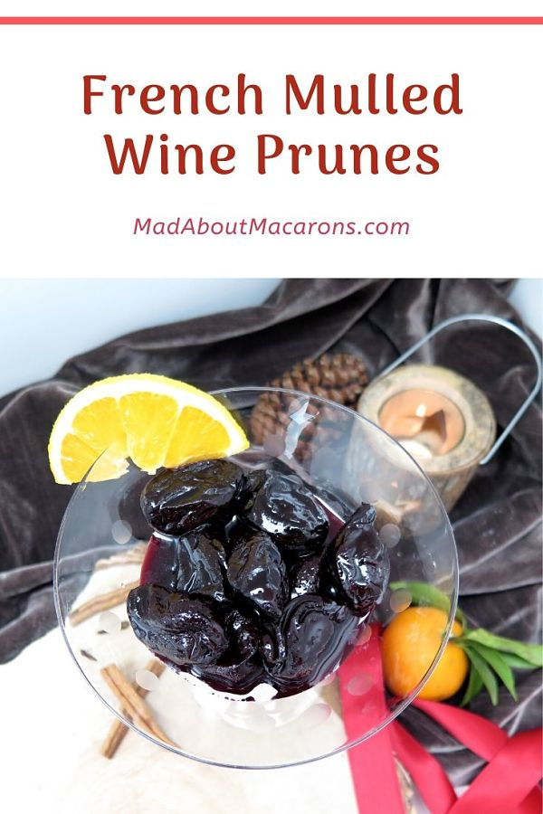 French Mulled Wine Prunes