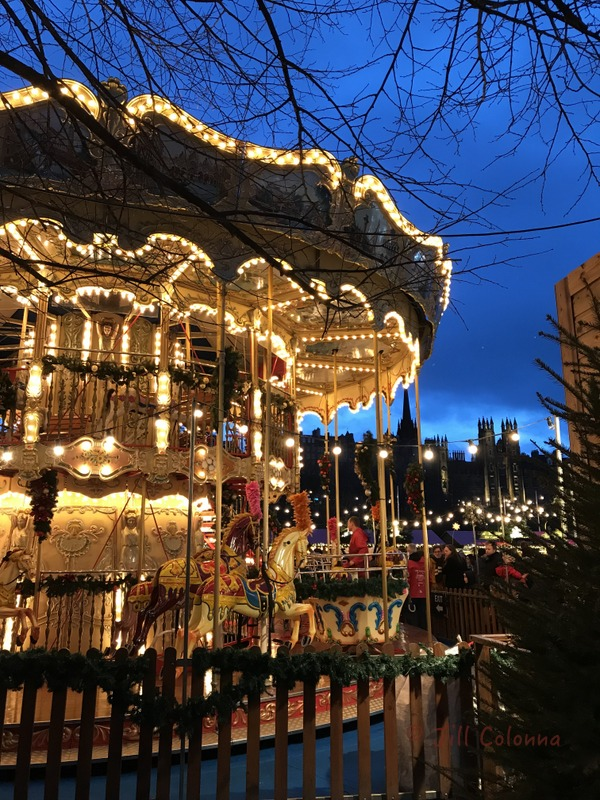 edinburgh Christmas Market Scotland