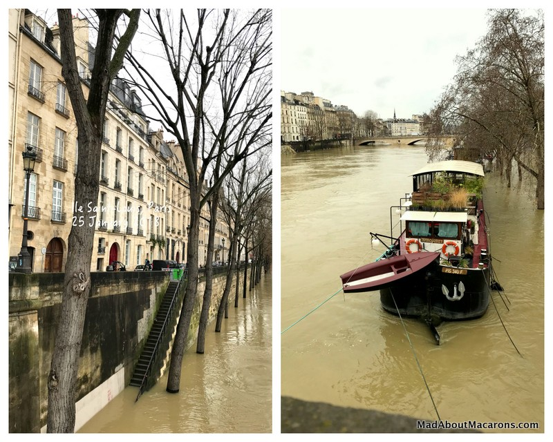 Paris January 2018 Seine Floods