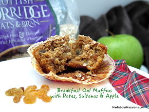 healthy breakfast bran muffins
