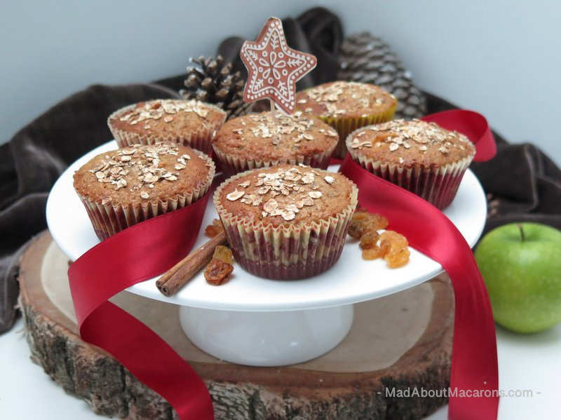 Gingerbread-apple-oat-muffins