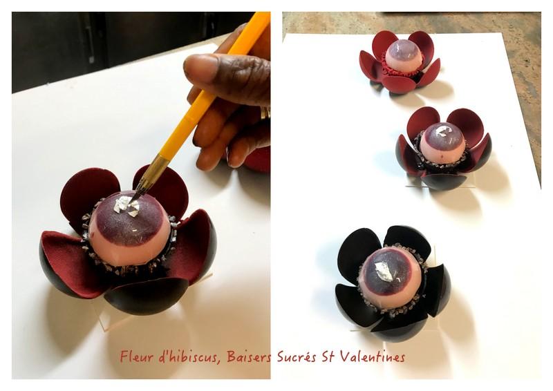 sweet kisses Patisserie Paris Valentine Creation