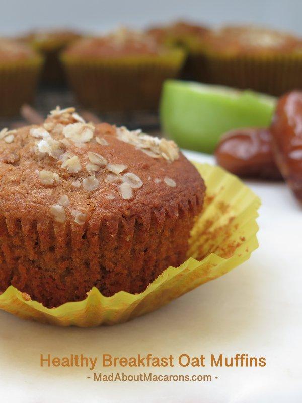 healthy breakfast bran muffins