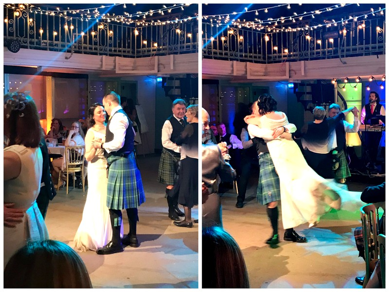 matrimonial Cake Scottish wedding dancing