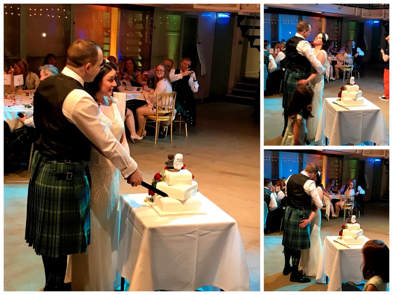 matrimonial cake Scottish wedding
