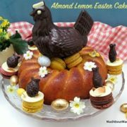 almond lemon easter cake
