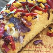 red onion pepper savoury cornbread recipe