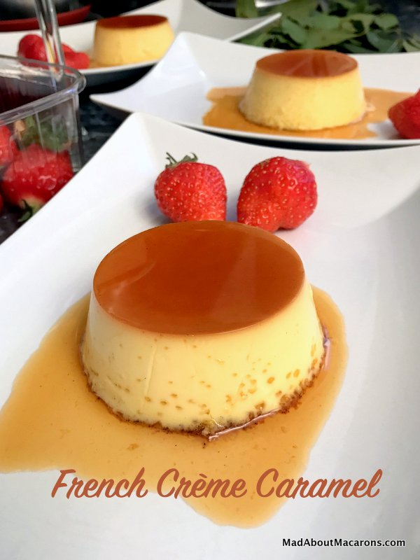 French crème caramel recipe