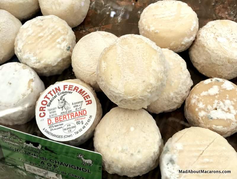 French goat cheese - crottin de Chavignol