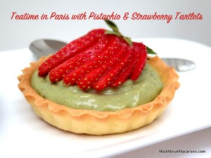 pistachio-strawberry-tart