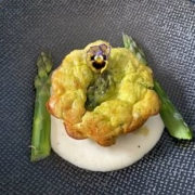 French Asparagus Clafoutis