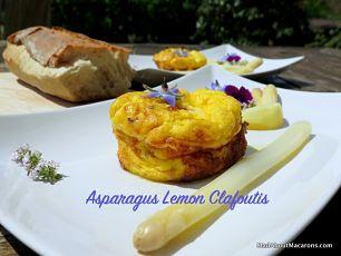 Asparagus Clafoutis