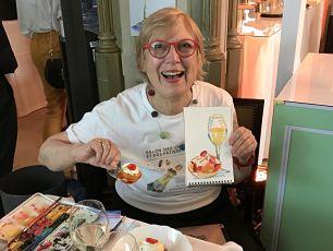 Carol Gillott Champagne Patisserie Salon Paris
