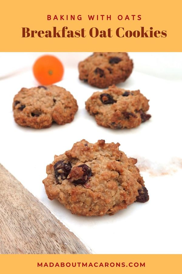 Breakfast Oat Cookies