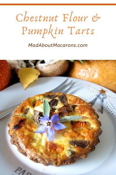 Chestnut Flour Pumpkin Tarts
