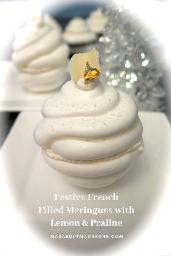 French Filled Lemon Meringues