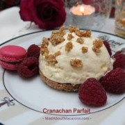 Cranachan Parfait Scottish dessert
