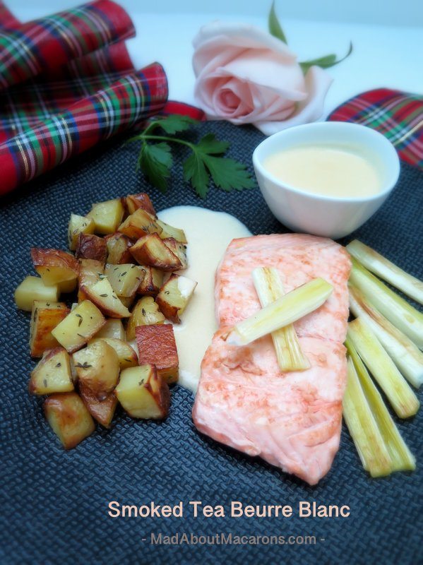 smoked tea beurre blanc salmon recipe