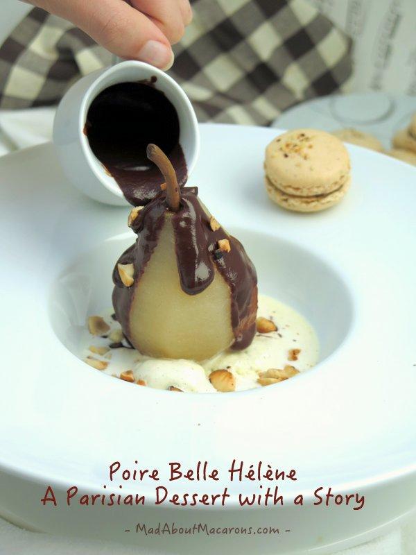 Poire Belle Helene #dessertstory #Parisian