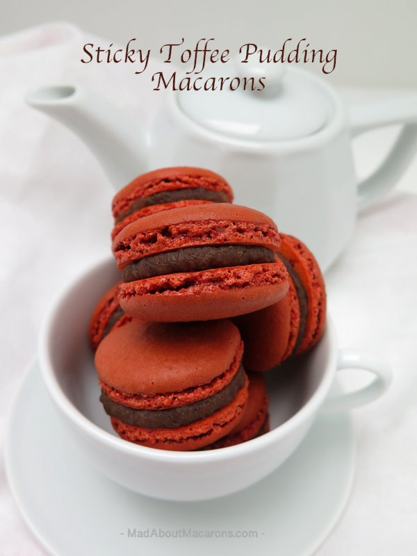 Sticky toffee pudding #macarons #glutenfree