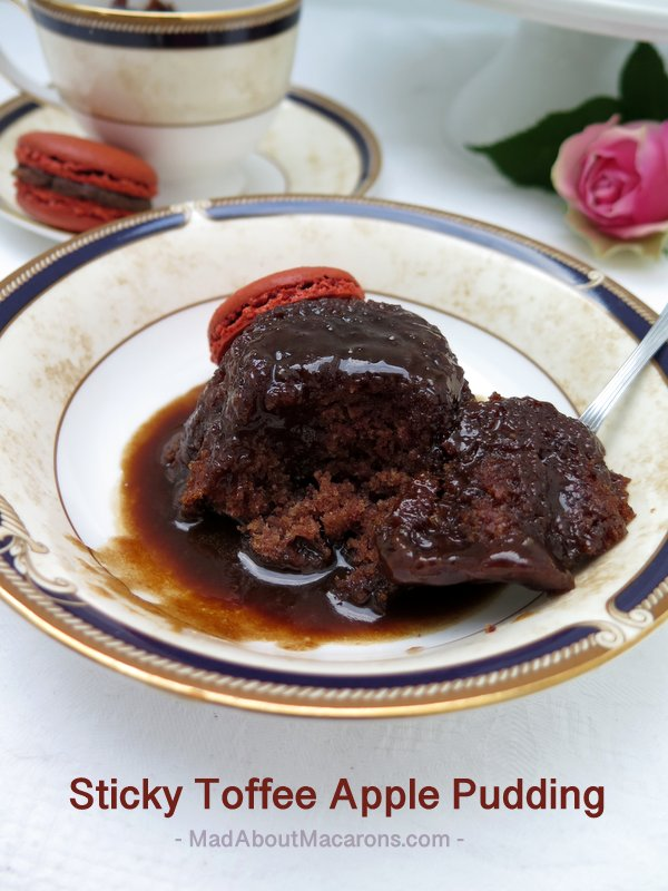 sticky toffee apple #pudding #desserttable #bestofbritish #stickytoffeepudding