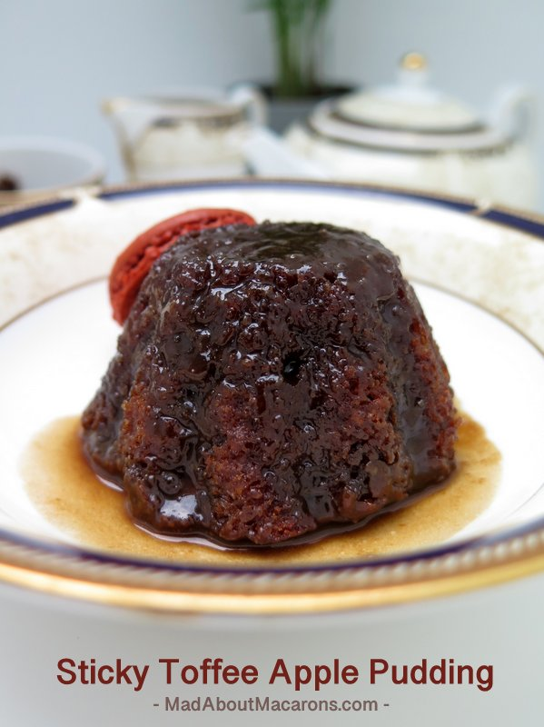 sticky toffee apple pudding #dessertrecipes #bestofbritish #classicpuddings