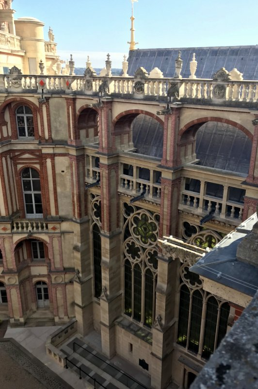 Saint-Germain-en-Laye Castle Roof Visit