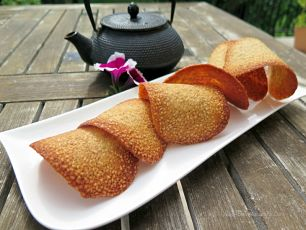 Sesame Tuiles Best Recipe