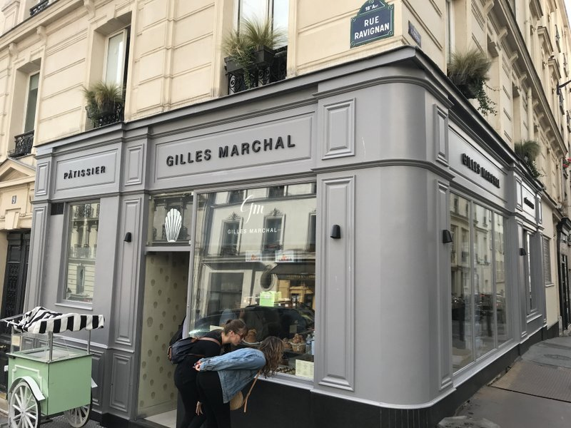 Montmartre chocolate pastry tour Gilles Marchal