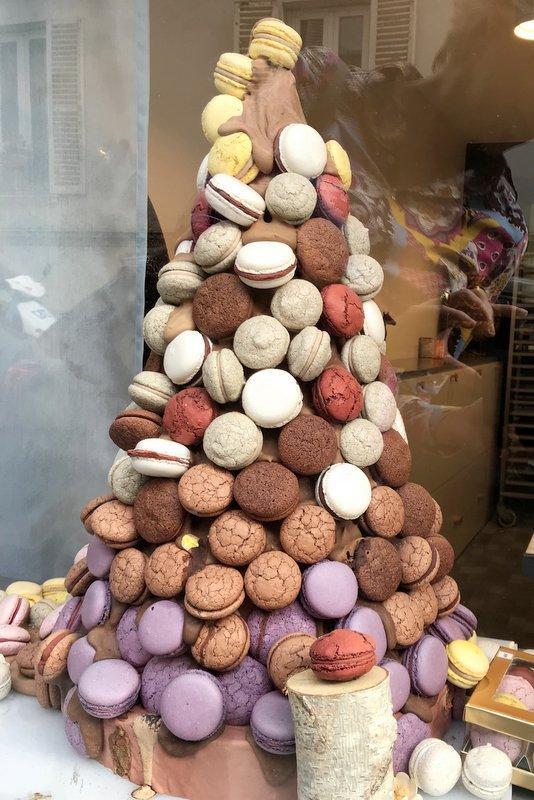 Montmartre chocolate pastry walk macaron tower